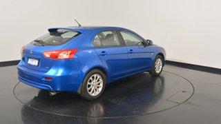 2010 Mitsubishi Lancer CJ MY11 SX Sportback Lightning Blue 6 Speed Constant Variable Hatchback