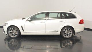 2017 Holden Calais VF II MY17 V Sportwagon White 6 Speed Sports Automatic Wagon.