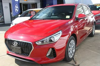 2018 Hyundai i30 GO S.SENSE Fiery Red 7 Speed Automatic Hatchback.