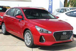2018 Hyundai i30 PD MY18 Go Fiery Red 6 Speed Sports Automatic Hatchback.