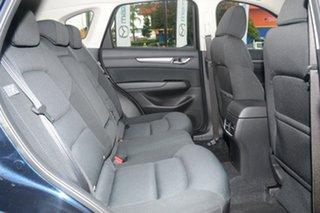 2017 Mazda CX-5 KF4W2A Maxx SKYACTIV-Drive i-ACTIV AWD Sport Deep Crystal Blue 6 Speed
