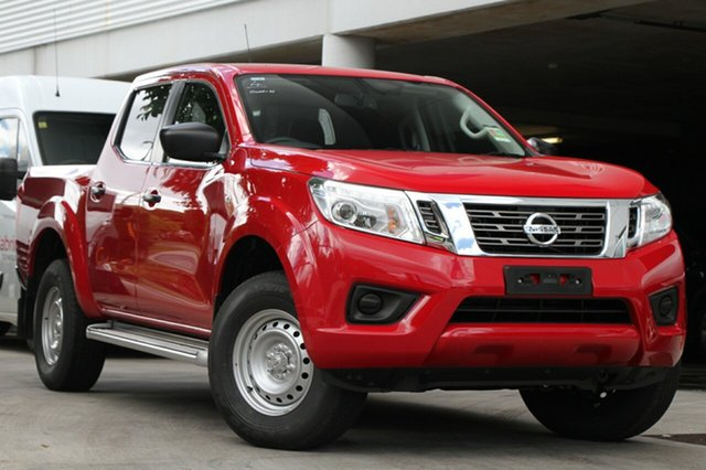 New Nissan Navara D23 S3 SL, 2019 Nissan Navara D23 S3 SL Burning Red 6 Speed Manual Utility