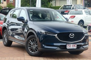 2017 Mazda CX-5 KF4W2A Maxx SKYACTIV-Drive i-ACTIV AWD Sport Deep Crystal Blue 6 Speed.