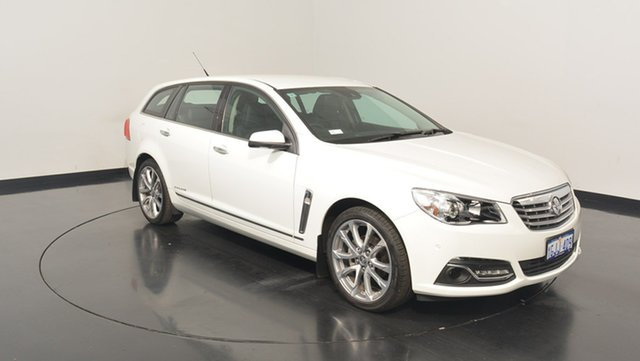 Used Holden Calais VF II MY17 V Sportwagon, 2017 Holden Calais VF II MY17 V Sportwagon White 6 Speed Sports Automatic Wagon