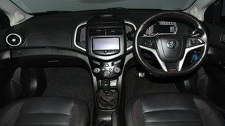 2015 Holden Barina TM MY15 RS Blue 6 Speed Manual Hatchback