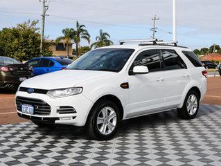 2012 Ford Territory SZ TX Seq Sport Shift White 6 Speed Sports Automatic Wagon.