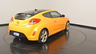 2013 Hyundai Veloster FS3 Street Coupe D-CT Yellow 6 Speed Sports Automatic Dual Clutch Hatchback