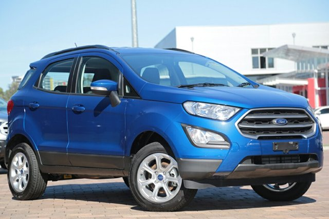 Demo Ford Ecosport BL Trend, 2017 Ford Ecosport BL Trend Lightning Blue 6 Speed Automatic Wagon