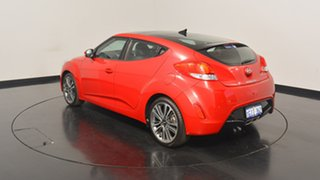 2016 Hyundai Veloster FS5 Series II Coupe Veloster Red 6 Speed Manual Hatchback.