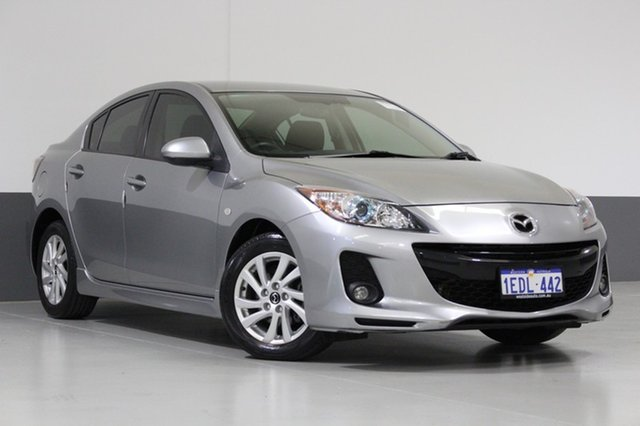Used Mazda 3 BL 11 Upgrade SP20 Skyactiv, 2012 Mazda 3 BL 11 Upgrade SP20 Skyactiv Grey 6 Speed Automatic Sedan