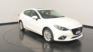 2015 Mazda 3 BM5238 SP25 SKYACTIV-Drive GT Pearl 6 Speed Sports Automatic Sedan