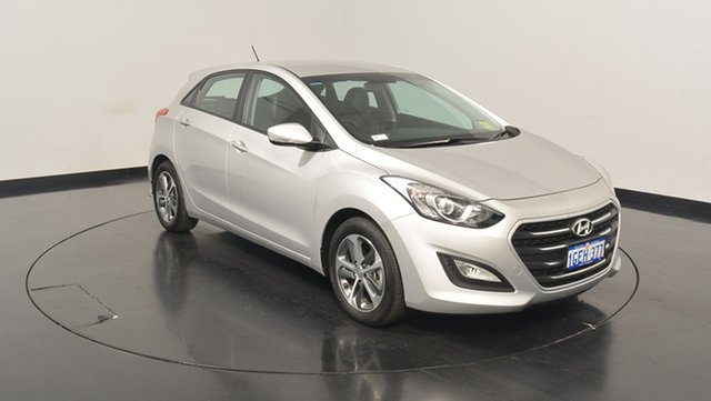 Used Hyundai i30 GD4 Series II MY17 Active X, 2016 Hyundai i30 GD4 Series II MY17 Active X Platinum Silver Metallic 6 Speed Sports Automatic