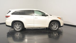 2014 Toyota Kluger GSU55R Grande AWD White 6 Speed Sports Automatic Wagon