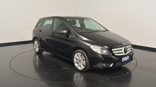 2013 Mercedes-Benz B180 W246 DCT Black 7 Speed Sports Automatic Dual Clutch Hatchback.