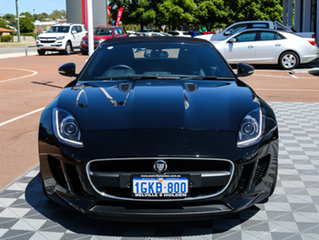 2013 Jaguar F-TYPE X152 MY14 Black 8 Speed Sports Automatic Convertible.