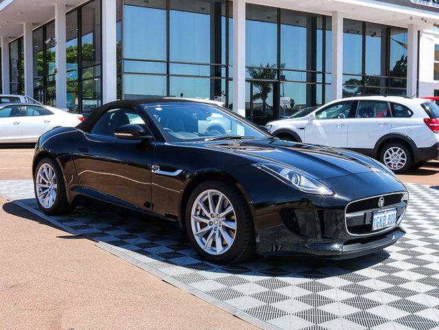 Used Jaguar F-TYPE X152 MY14 , 2013 Jaguar F-TYPE X152 MY14 Black 8 Speed Sports Automatic Convertible