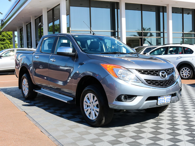 Used Mazda BT-50 UP0YF1 GT, 2013 Mazda BT-50 UP0YF1 GT Grey 6 Speed Sports Automatic Utility