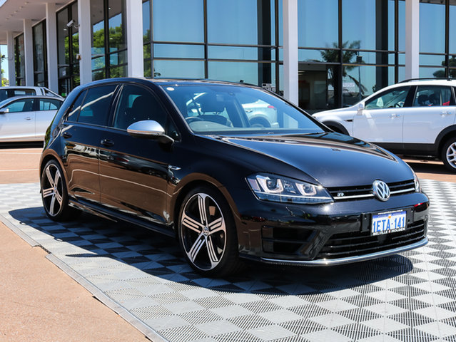 Used Volkswagen Golf VII MY14 R DSG 4MOTION, 2014 Volkswagen Golf VII MY14 R DSG 4MOTION Black 6 Speed Sports Automatic Dual Clutch Hatchback