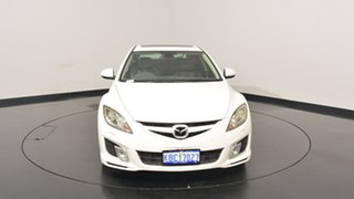 2009 Mazda 6 GH1051 MY09 Luxury Sports White 5 Speed Sports Automatic Hatchback