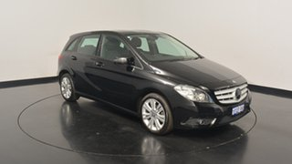2013 Mercedes-Benz B180 W246 DCT Black 7 Speed Sports Automatic Dual Clutch Hatchback