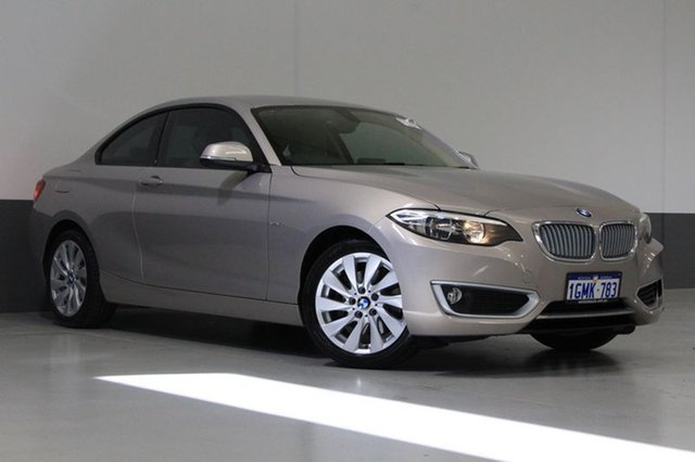 Used BMW 220i F22 Modern Line, 2014 BMW 220i F22 Modern Line Beige 8 Speed Automatic Coupe