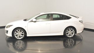 2009 Mazda 6 GH1051 MY09 Luxury Sports White 5 Speed Sports Automatic Hatchback.