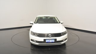 2015 Volkswagen Passat 3C (B8) MY16 132TSI DSG Pure White 7 Speed Sports Automatic Dual Clutch Sedan