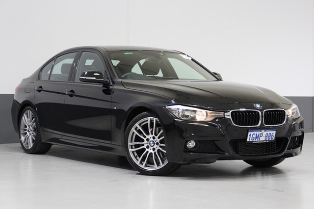 Used BMW 320D F30 MY14 , 2014 BMW 320D F30 MY14 Black 8 Speed Automatic Sedan