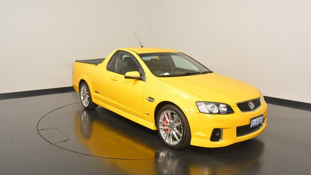 Used Holden Ute VE II MY12 SS V Redline, 2011 Holden Ute VE II MY12 SS V Redline Yellow 6 Speed Manual Utility