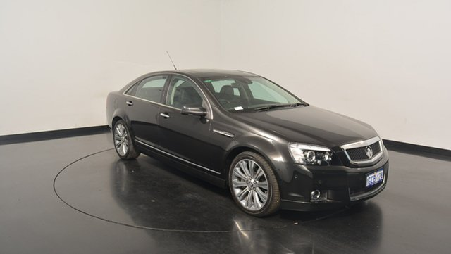 Used Holden Caprice WN MY14 V, 2013 Holden Caprice WN MY14 V Black 6 Speed Sports Automatic Sedan