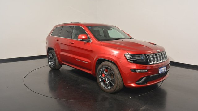 Used Jeep Grand Cherokee WK MY2014 SRT, 2013 Jeep Grand Cherokee WK MY2014 SRT Burgundy 8 Speed Sports Automatic Wagon