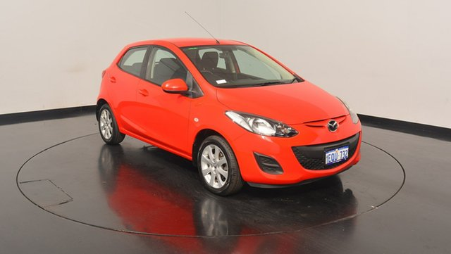Used Mazda 2 DE10Y2 MY14 Neo Sport, 2014 Mazda 2 DE10Y2 MY14 Neo Sport Red 4 Speed Automatic Hatchback