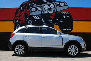 2014 Holden Captiva CG MY14 5 LT Silky Silver 6 Speed Sports Automatic Wagon.