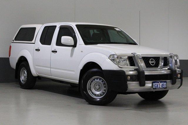 Used Nissan Navara D40 MY13 RX (4x4), 2014 Nissan Navara D40 MY13 RX (4x4) White 5 Speed Automatic Dual Cab Pick-up