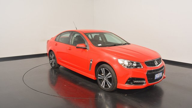 Used Holden Commodore VF MY15 SV6 Storm, 2015 Holden Commodore VF MY15 SV6 Storm Red 6 Speed Sports Automatic Sedan