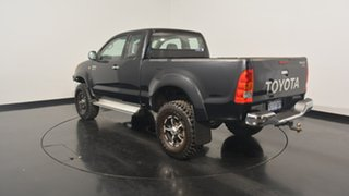 2005 Toyota Hilux GGN25R MY05 SR5 Xtra Cab Black 5 Speed Manual Utility.