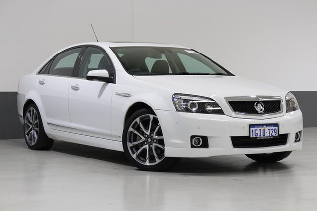 Used Holden Caprice WN MY17 V, 2017 Holden Caprice WN MY17 V White 6 Speed Auto Active Sequential Sedan