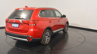 2017 Mitsubishi Outlander ZK MY17 LS 4WD Red 6 Speed Constant Variable Wagon