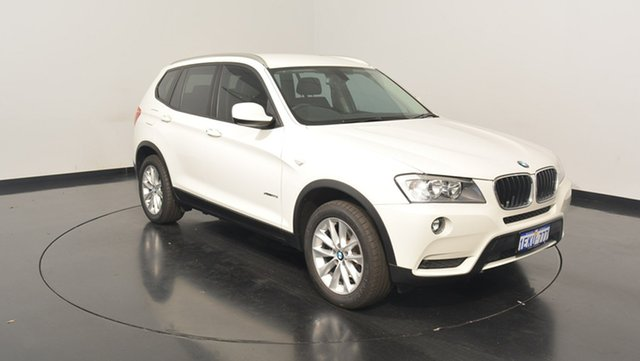 Used BMW X3 F25 MY1213 xDrive20i Steptronic, 2014 BMW X3 F25 MY1213 xDrive20i Steptronic White 8 Speed Automatic Wagon