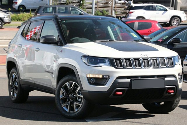 New Jeep Compass M6 MY18 Trailhawk, 2018 Jeep Compass M6 MY18 Trailhawk Vocal White 9 Speed Automatic Wagon
