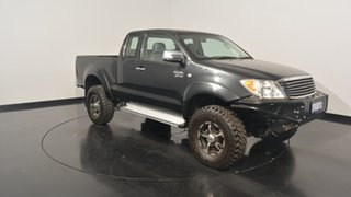 2005 Toyota Hilux GGN25R MY05 SR5 Xtra Cab Black 5 Speed Manual Utility