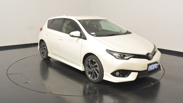 Used Toyota Corolla ZRE182R ZR S-CVT, 2015 Toyota Corolla ZRE182R ZR S-CVT White 7 Speed Constant Variable Hatchback