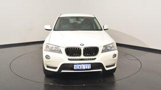 2014 BMW X3 F25 MY1213 xDrive20i Steptronic White 8 Speed Automatic Wagon