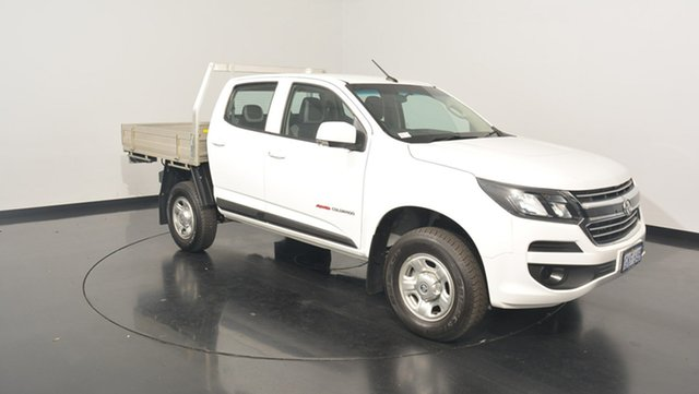 Used Holden Colorado RG MY17 LS Crew Cab, 2016 Holden Colorado RG MY17 LS Crew Cab White 6 Speed Sports Automatic Cab Chassis