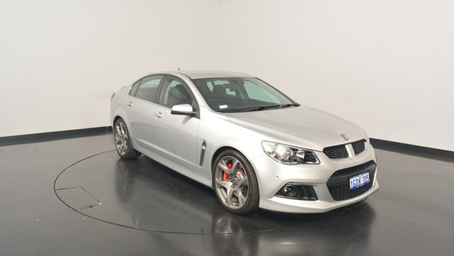 Used Holden Special Vehicles Clubsport GEN-F MY15 R8, 2015 Holden Special Vehicles Clubsport GEN-F MY15 R8 Silver 6 Speed Sports Automatic Sedan