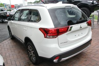 2018 Mitsubishi Outlander ZL MY18.5 ES AWD White Automatic Wagon