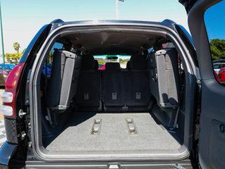 2008 Toyota Landcruiser Prado GRJ120R GXL Black 5 Speed Automatic Wagon