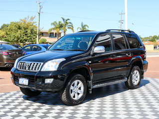 2008 Toyota Landcruiser Prado GRJ120R GXL Black 5 Speed Automatic Wagon