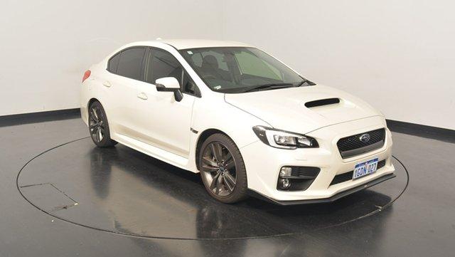 Used Subaru WRX V1 MY17 AWD, 2017 Subaru WRX V1 MY17 AWD White 6 Speed Manual Sedan