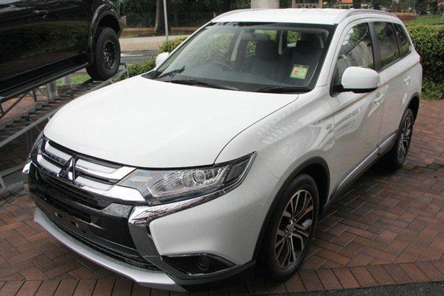New Mitsubishi Outlander ZL MY18.5 ES 2WD ADAS, 2018 Mitsubishi Outlander ZL MY18.5 ES 2WD ADAS White 6 Speed Constant Variable Wagon